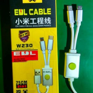 EDL Cable 2 in 1